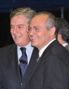 Collor e Renan Calheiros - Foto José Cruz/ABr