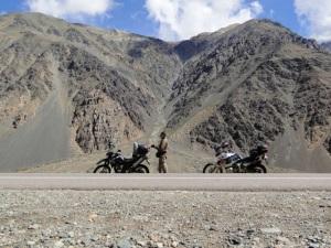 Atravessando as cordilheiras - entre Mendoza (Argentina) e Los Andes (Chile)